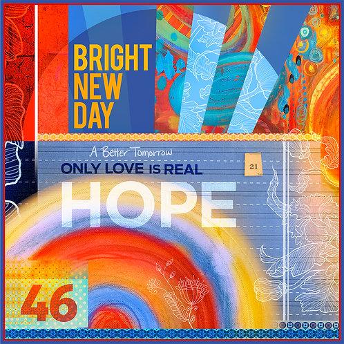 Bright New Day Sticker