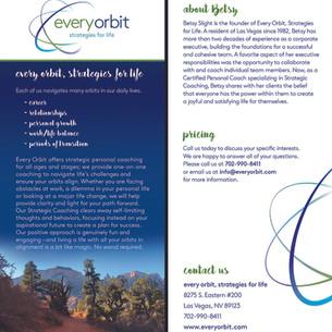 Rack card - every orbit
