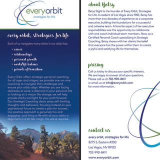 Rack card - every orbit