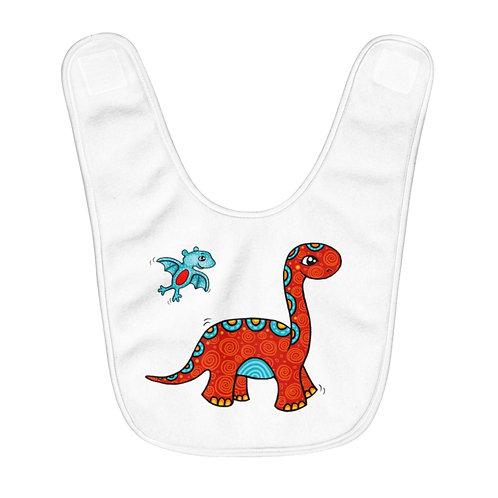 Red Dino - Bib