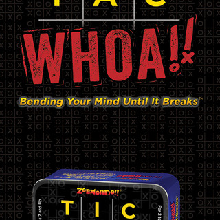 Tic Tac Whoa! Game card