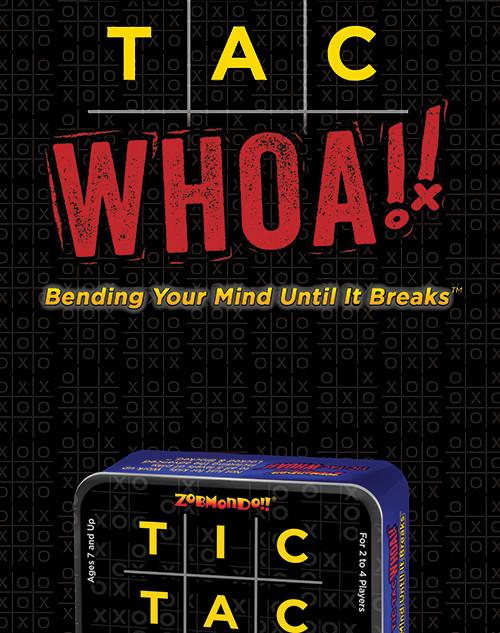 Tic Tac Whoa! Game card