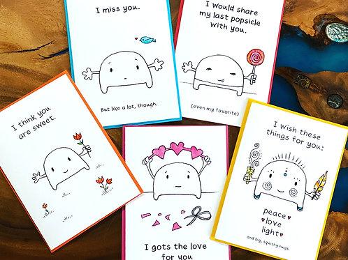 Smoosh Greeting Cards
