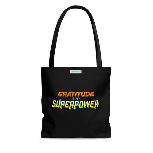Gratitude Superpower - Tote Bag
