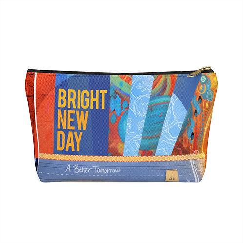 BRIGHT NEW DAY - zipper pouch