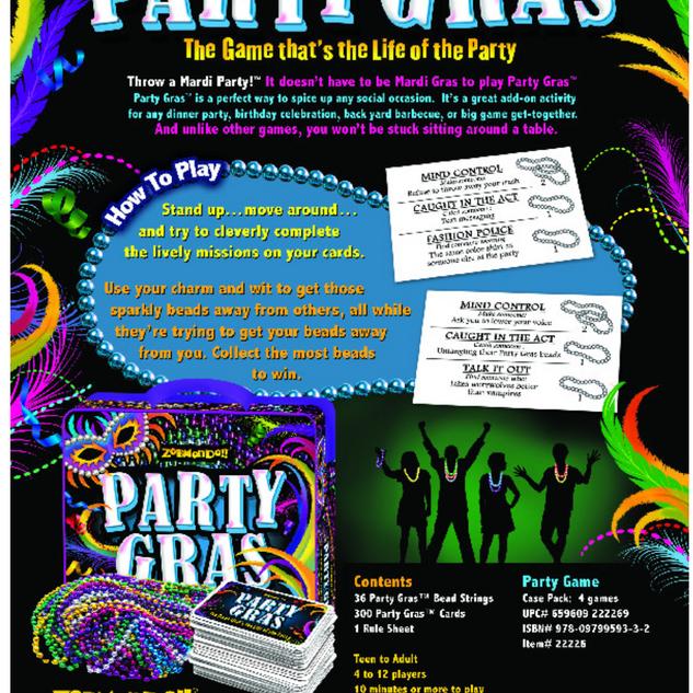 Party Gras Game