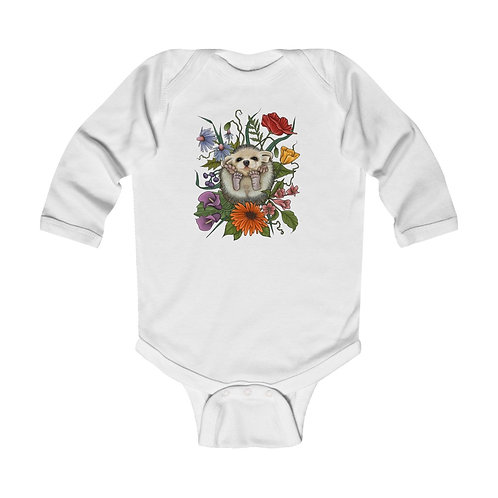Hedgehog - Long Sleeve Onesie