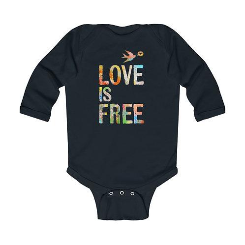 LOVE is FREE - LS Onesie