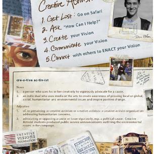Creative Visions event invite