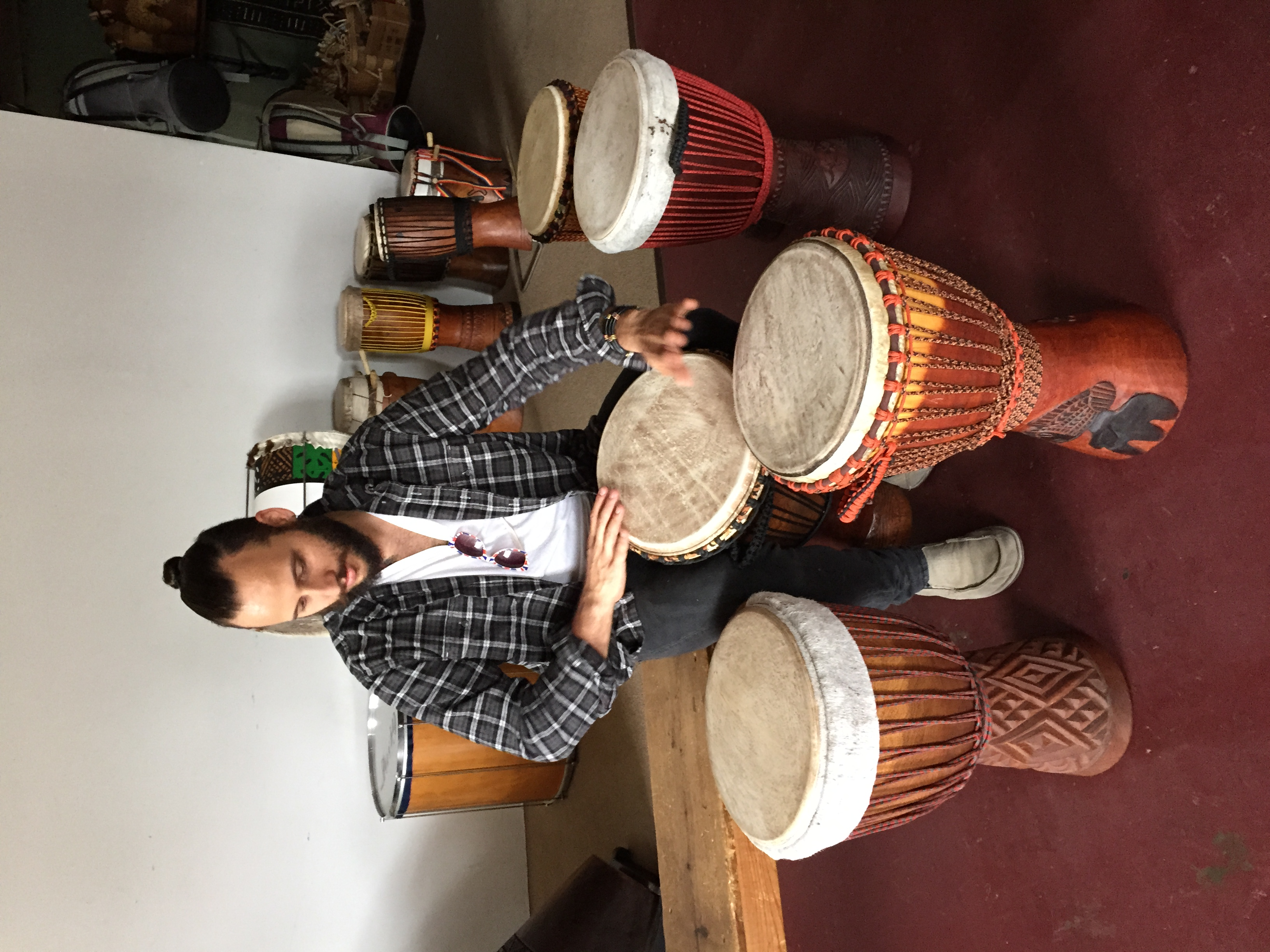 Djembe selection