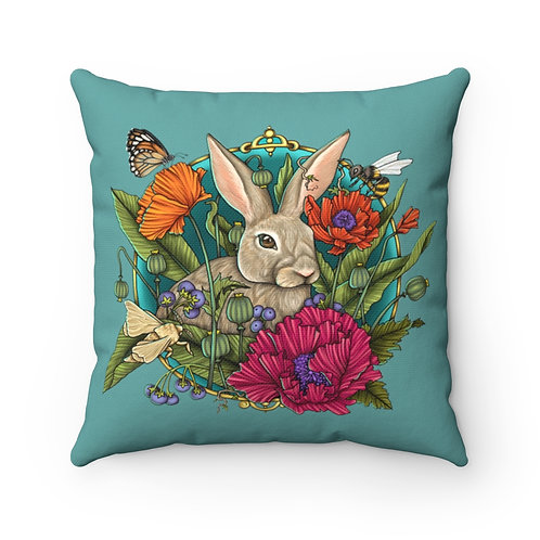 Rabbit - Square Pillow Case