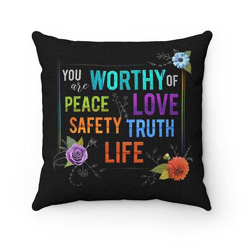 WORTHY - Pillow