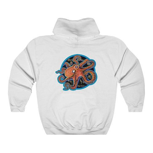 Red Octopus - Hoodie