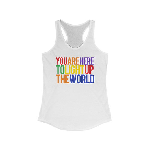 You Are Here - Racerback Tank