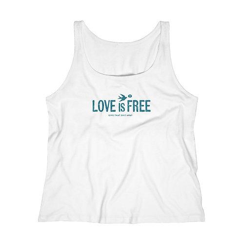 LOVE is FREE - Cotton Tank