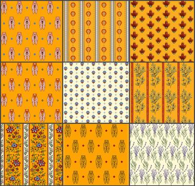 Provençal Patterns for Textiles