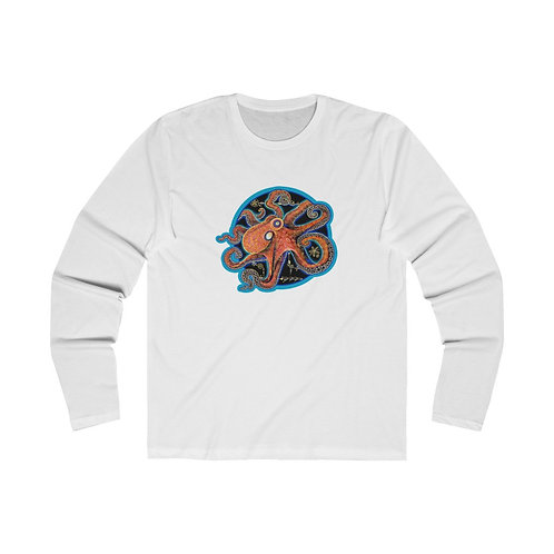 Red Octopus - Men's LS Crew
