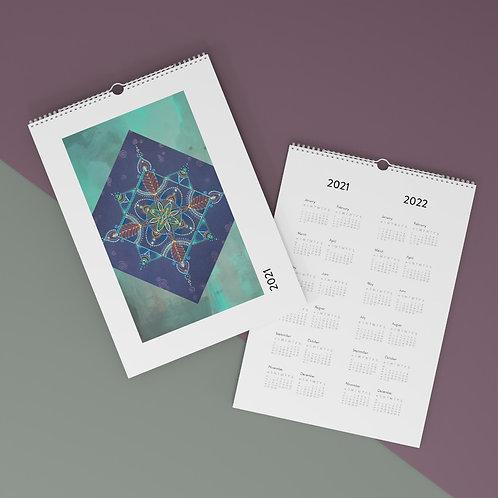 Mandala - 2021 Wall Calendar