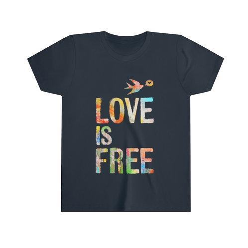 LOVE is FREE - Kids Tee