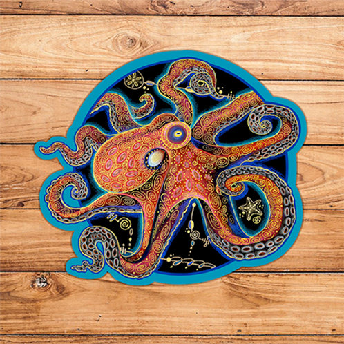 Octopus Sticker #1
