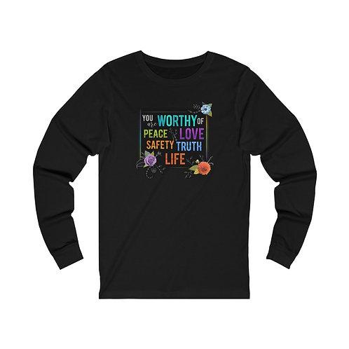 WORTHY - LS Tee