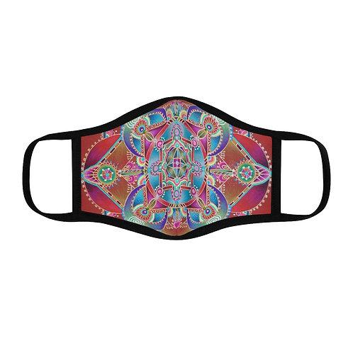 Mandala Red - Face Mask