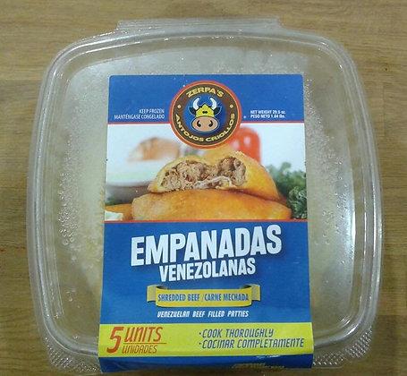 Empanadas Venezolana de carne desmechada (5 uds)