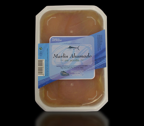 Smoked Marlin Tray in Vegetable Oil