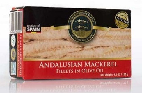 Andalusian Mackerel in Olive Oil