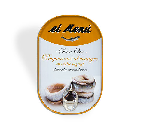 Whited Anchovies In Sunflower Oil Serie Oro