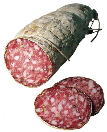 Finocchiona Salame made Toasted Fennel Pollen