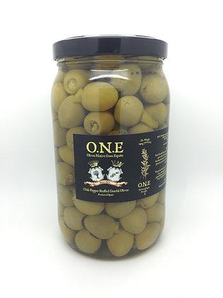 O.N.E Chili Pepper Stuffed Gordal Olives