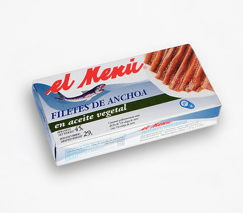 Anchovy Fillet In Sunflower Oil