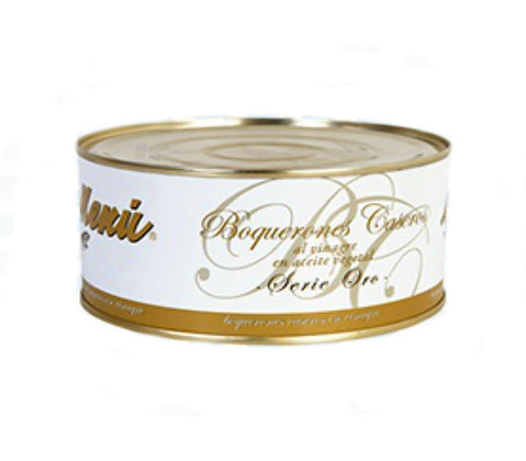 Whited Anchovies in Vinegar Serie Oro