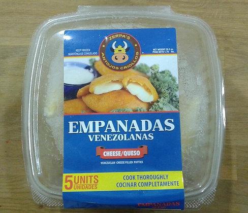 Empanadas Venezolanas de queso 5 (uds)