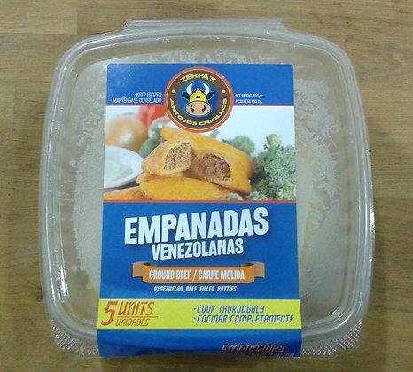 Empanadas Venezolanas de carne molida (5 uds)