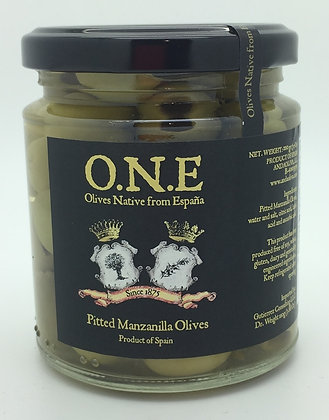 O.N.E Pitted Manzanilla Olives