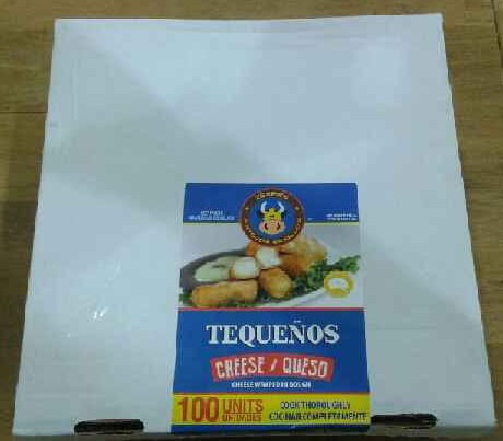 Tequeños Gourmet crudos 100 uds
