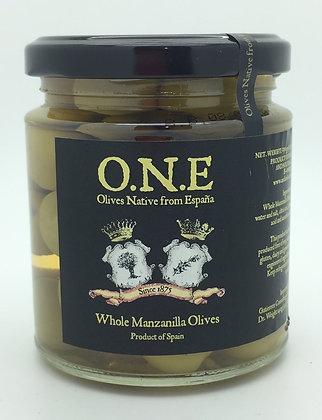 O.N.E Whole Manzanilla Olives