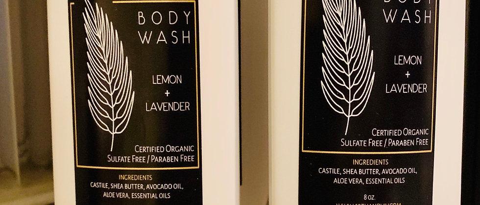 Lemon+Lavender Body Wash