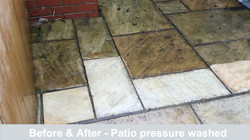 Pressure wash patio cleaner Sheffield
