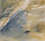 MER 1 aquarelle sur Arches lisse 29,7 x