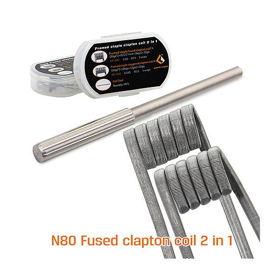 Geekvape N80 Fused Clapton Coil 2 in1 - F203