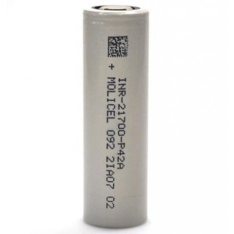 Molicel P42A 21700 4000mAh 45A