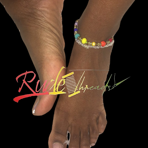 Chakra frequency Ankle Bracelet