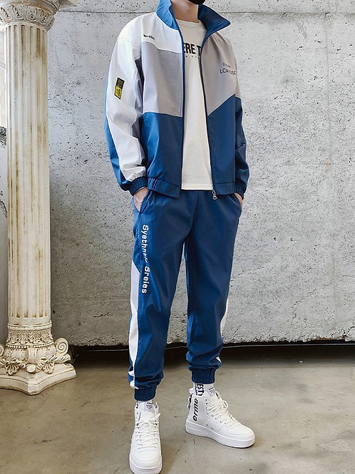 Synthetic series track suit