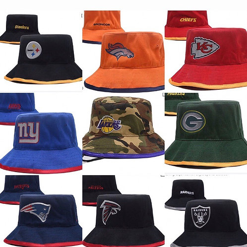 Team bucket hats