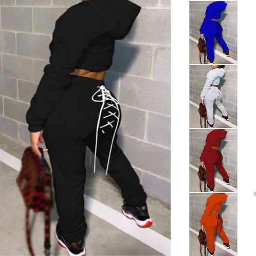 Snatched joggers set