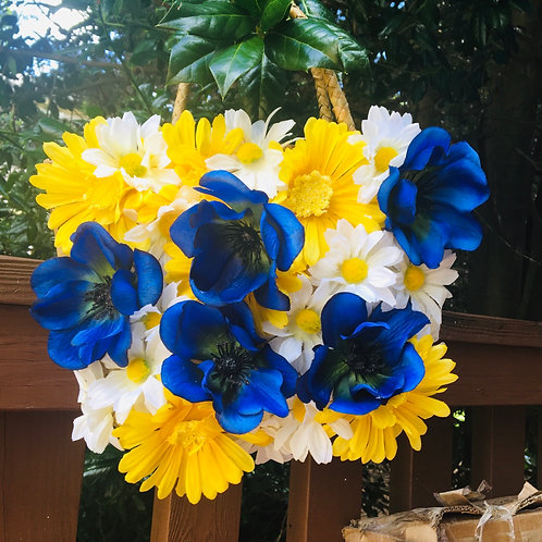 Small 3D floral bag