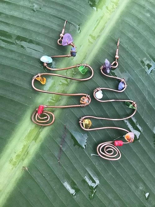 Frequency Chakra Earrings